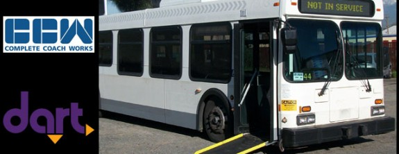 Complete Coach Works to Rehab DART Busses for Iowa State Fair