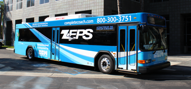 Indianapolis International Airport to Purchase Six Zero Emission All-Electric ZEPS Buses