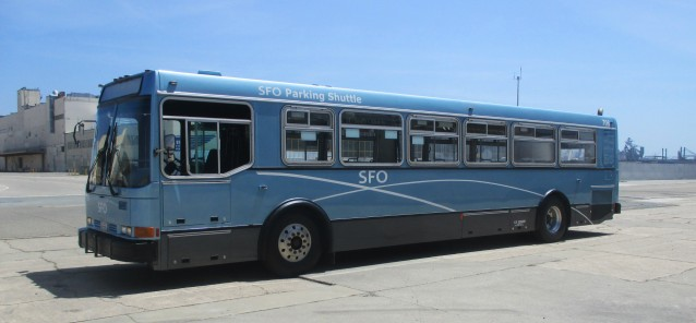 San Francisco Airport Receives 6 Refurbished Shuttle Buses from CCW