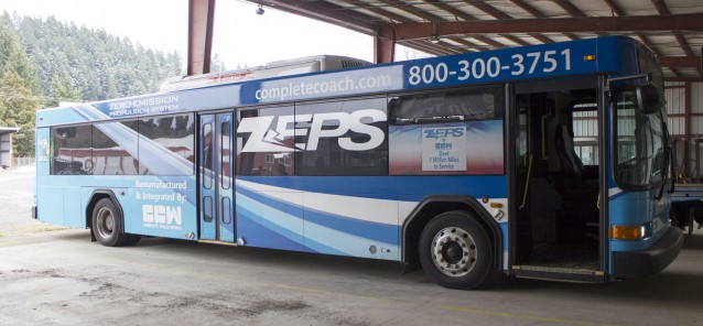 Twin Transit Electric Bus Demonstration to Give Riders Free Trips
