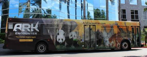CCW Delivers First Buses to Ark Encounter