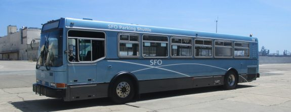 San Francisco Airport Receives 6 Refurbished Shuttle Buses