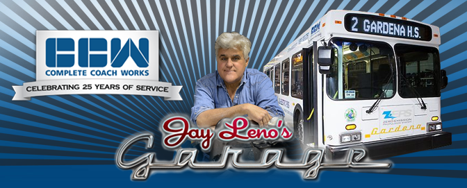 ZEPS 100% Electric Bus featured on Jay Leno's Garage